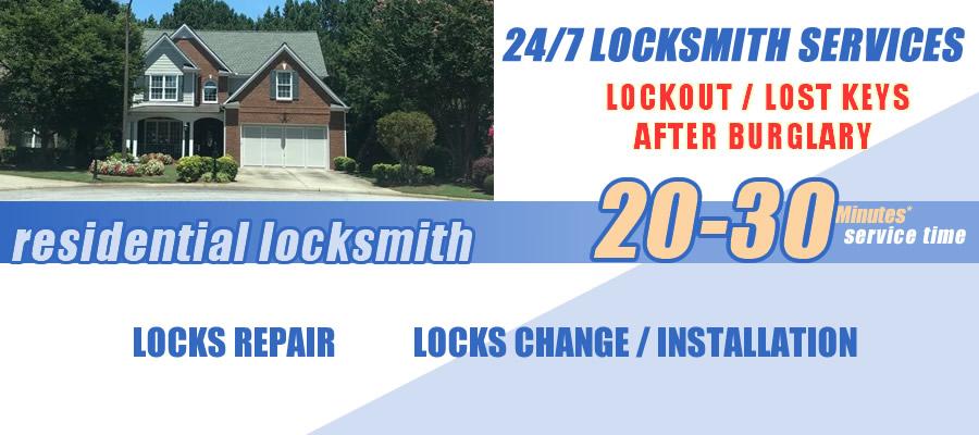 Residential locksmith Alpharetta